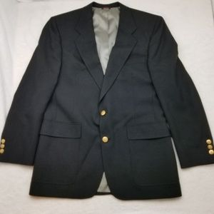 Hart Schaffner Marx Jack Nicklaus Black Sport Coat